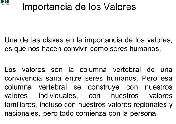 Por qu es importante practicar los valores valores10 for Porque son importantes los arboles wikipedia