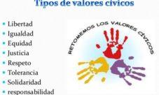 Tipos de valores cívicos